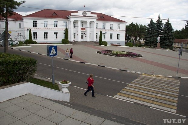 Braslav main square