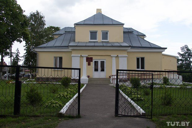 House of  former local Polish governor in Braslav