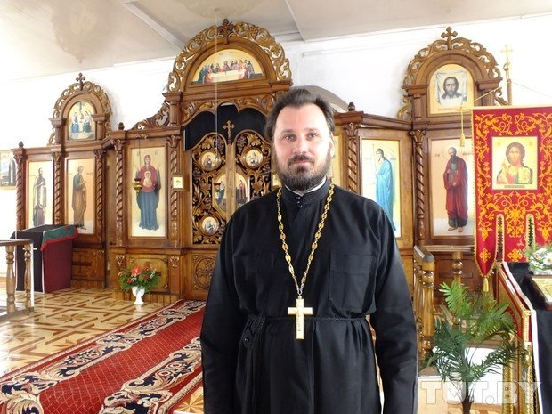 Father Vyachlav - an Orthodox priest in Ivye